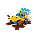 Small wow toys rock  n  ride ralph friction powered quad toy toddler preschool