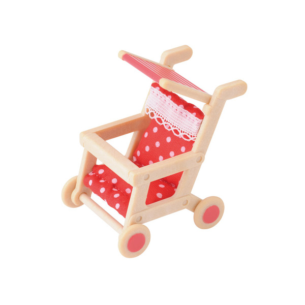 Large sylvanian families pushchair buggy stroller 4460