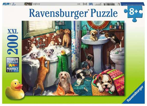 Large ravensburger fun junction toy shop perth crieff perthshire scotland jigsaw puzzle jig saw tub time 200 xxl extra extra large pieces piece pc pcs 4005556126675