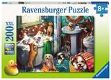 Small ravensburger fun junction toy shop perth crieff perthshire scotland jigsaw puzzle jig saw tub time 200 xxl extra extra large pieces piece pc pcs 4005556126675
