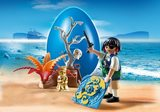 Small playmobil fun junction toy shop perth crieff perthshire scotland play sets imaginative play playmobil egg container pirate on a treasure hunt easter gift 4945 map gold shovel