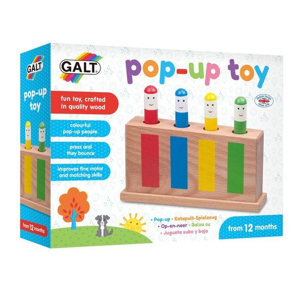 Large galt pop up toy