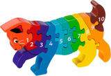 Small cat kitten number puzzle 1 to 10 one to ten jigsaw puzzle lanka kade fair trade toy toys wooden wood natural fun junction toy shop stop store crieff perth perthshire scotland