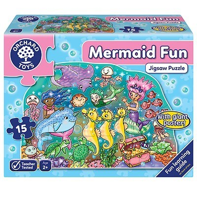 Large mermaid fun