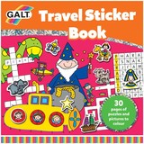 Small galt travel sticker activity book for 6 six years and up