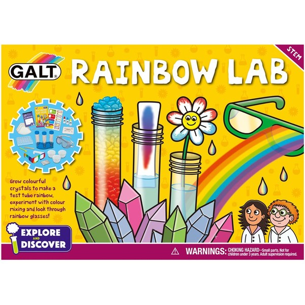 Large galt toys rainbow lab science experiments kit crystals fun junction toy shop crieff perth scotland