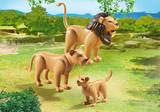 Small playmobil fun junction toy shop perth crieff perthshire scotland play sets imaginative play lion family 6642 lion lioness cub