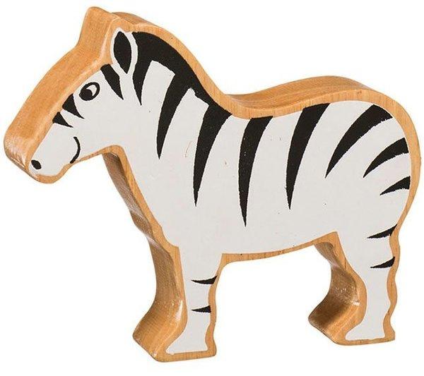 Large lanka kade wooden animal zebra