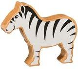 Small lanka kade wooden animal zebra
