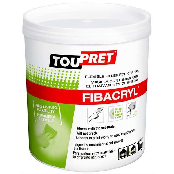 Large toupret fibacryl 1kg