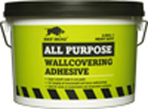 Large fh all purpose wallcovering adhesive 2.5kg