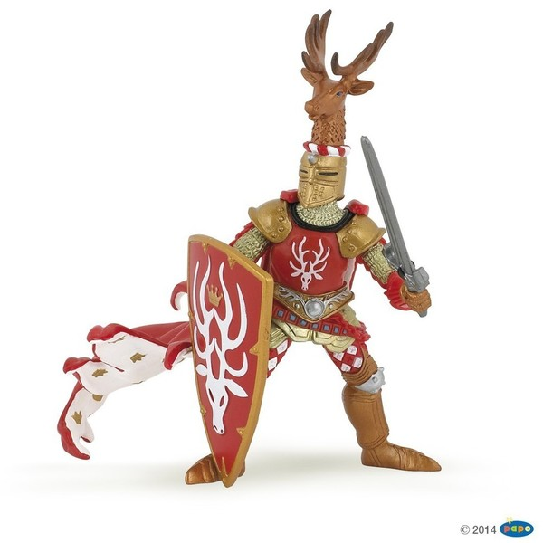 Large papo medieval weapon master stag 39911