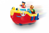Small tommy tug boat bath toy wind up use in bath and on the floor wow toys preschool plastic safe no batteries toy fun junction toys crieff perth perthshire scotland