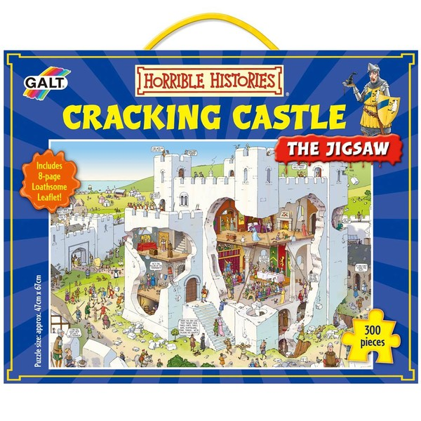 Large galt toys galt horrible histories cracking castle jigsaw puzzle fun junction toy shop crieff perth scotland