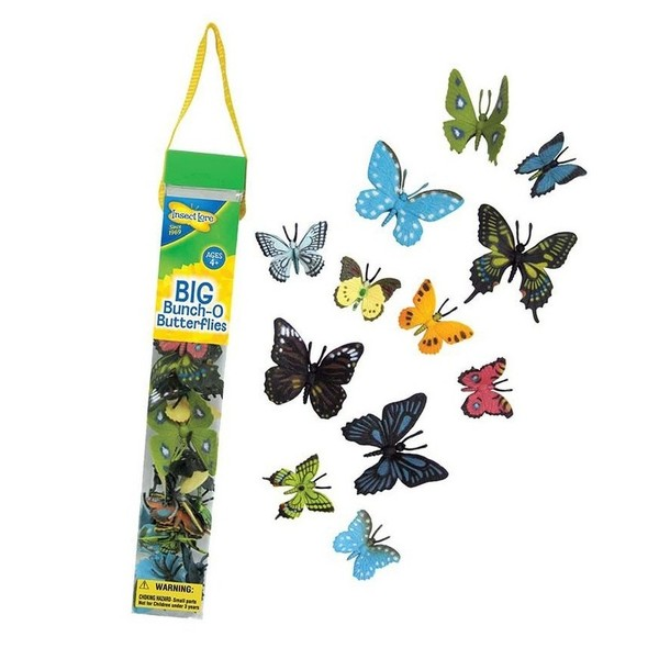 Large insect lore big bunch o of butterflies butterfly toys tub sq