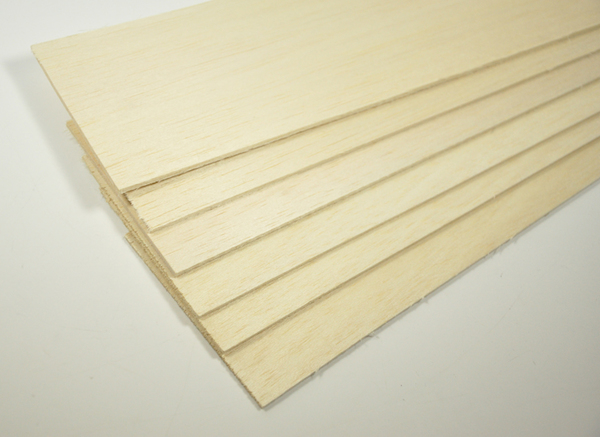 Large balsa sheet