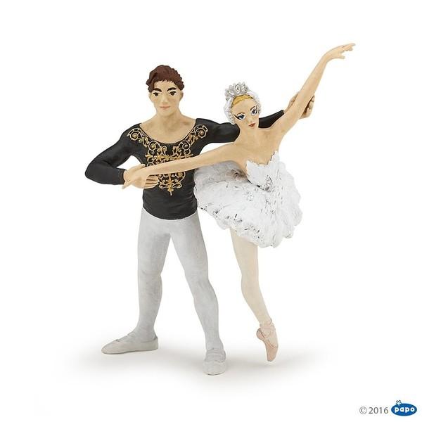 Large papo enchantedballerina and her partner 39128