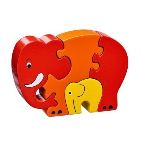 Large lanka kade elephant puzzle red