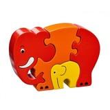 Small lanka kade elephant puzzle red
