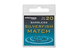 Small barbless silverfish match spade end packed updated