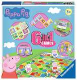 Small ravensburger fun junction toy shop perth crieff perthshire scotland game peppa pig 6 in 1 games board card games
