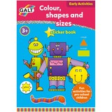 Small galt toys colour shape sizesticker book preschool fine motor fun junction toy shop crieff perth scotland