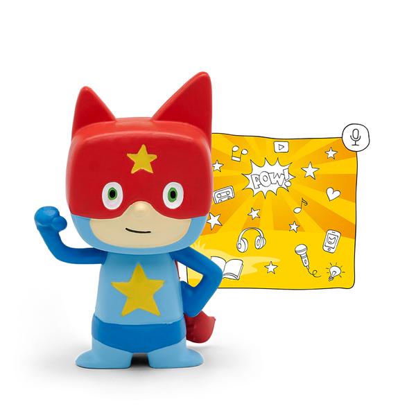 Large creative tonie tonies record your own audio message toy superhero boy