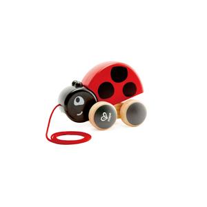 Large ladybug pull along