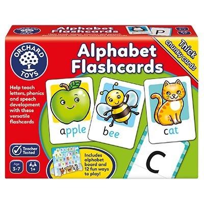 Large alphabet flashcards