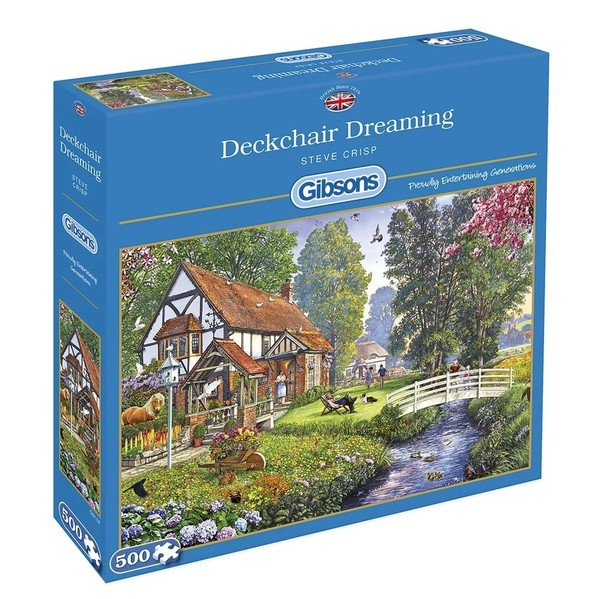 Large a gibsons deckchair dreaming 500pc