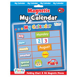 Small fiesta crafts magnetic calander date weather and special event magnets blue