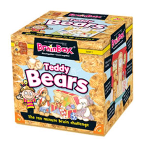 Large brainbox teddy bears
