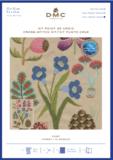 Small cross stitch kit gift dmc botanical forest bk1934