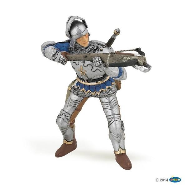Large papo medieval blue crossbowman 39753