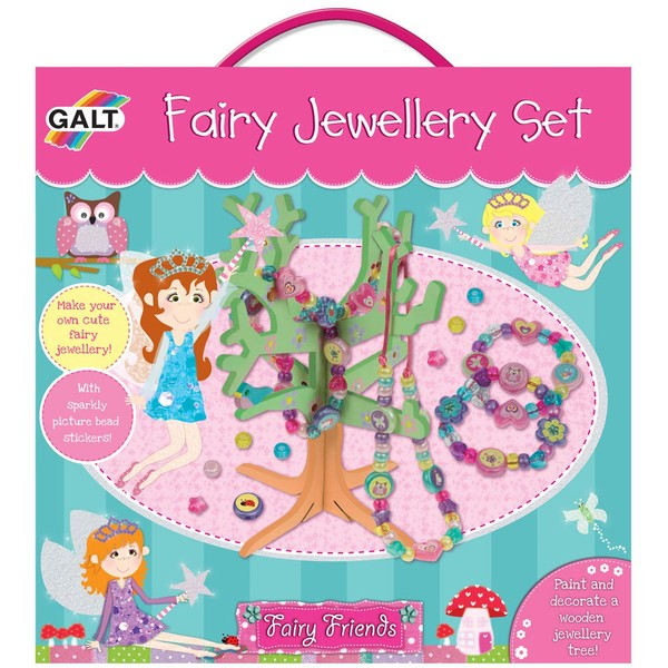 Large galt fairy jewelery bead set with jewellery jewelery tree make your own handmade