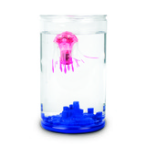 Small hexbug aquabots 2.5 jellyfish jelly fish really swims with bowl