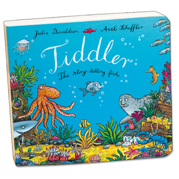 Large tiddler board book by julia donaldson and axel scheffler
