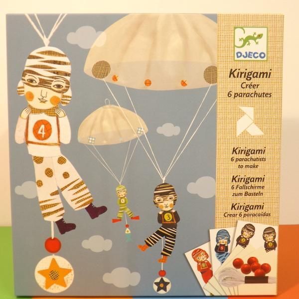 Large dj c parachute team kirigami
