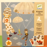 Small dj c parachute team kirigami