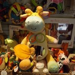 Medium_peek_squeak_soft_giraffe_mirror_tummy_rattle_toy_baby_infant_2