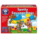 Small spotty sausage dogs