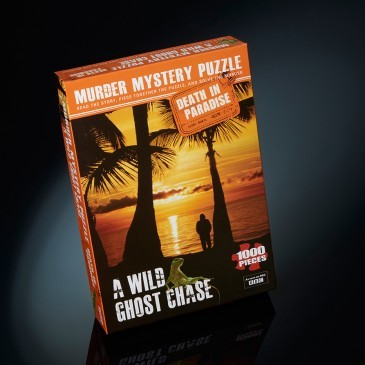 Large death in paradise wild ghost chase puzzle murder mystery