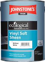 Large joht vinyl soft sheen 5l bw