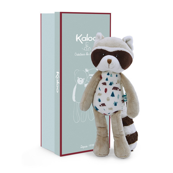 Large kaloo fun junction toy shop perth crieff perthshire scotland kaloo leon the raccoon small 27 cm 10.6 inch inches 4895029627972