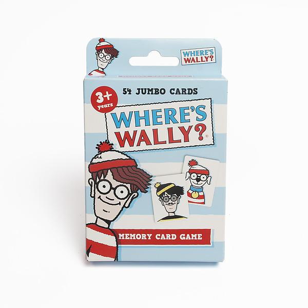 Large 4015 wheres wally memory card game