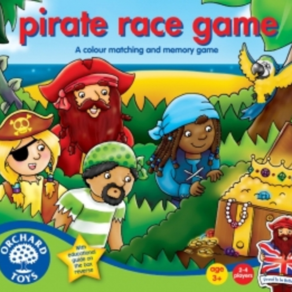 Large pirate race game orchard
