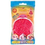 Small hama beads neon pink