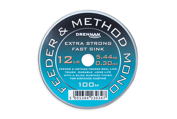 Large feeder and method mono 12lb a