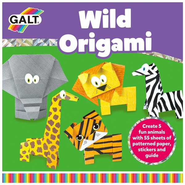 Large galt toys wild origami paper folding for kids children zoo animals fun junction toy shop crieff perth scotland