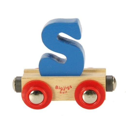 Large letter s